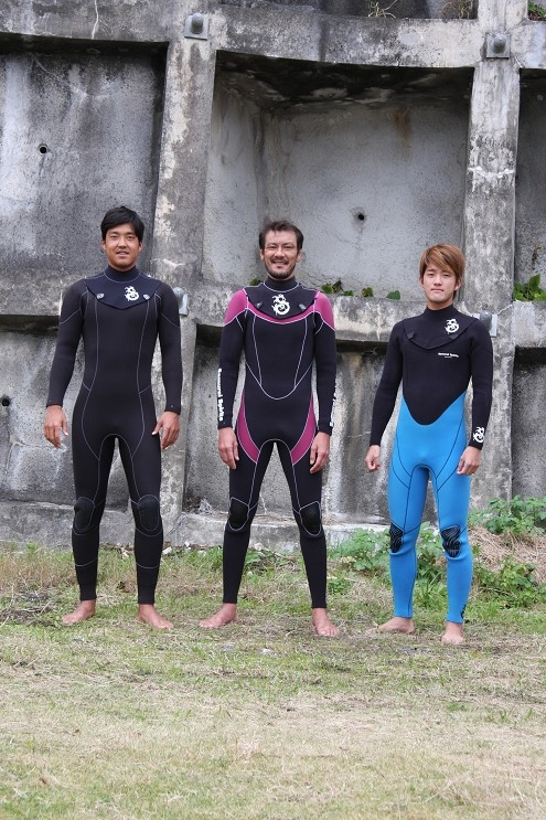 SAMURAI SUPIRITS WET SUIT